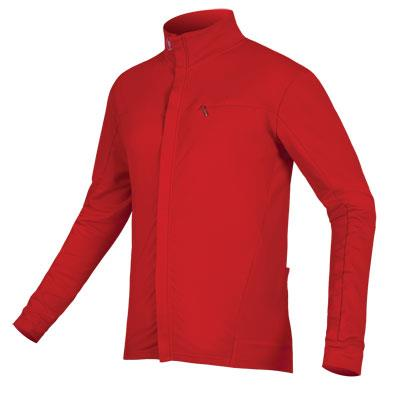 Endura Xtract Roubaix Mens Long Sleeve Jersey - Red