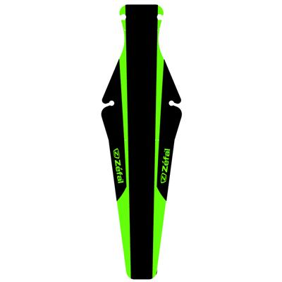Zefal Shield Lite M Under Saddle Rear Road Mudguard - Green/Black