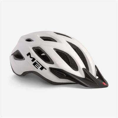 Met Crossover 2019 MTB Helmet - Medium (52-59cm) - White Matt