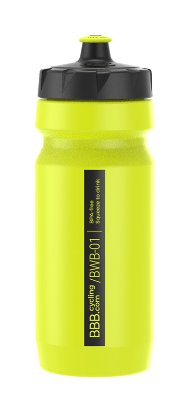 BBB Comptank Water Bottle 550ml - Neon Yellow
