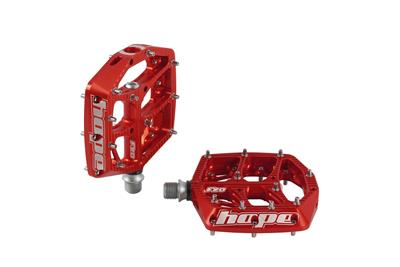 Hope F20 MTB Flat Pedals - Red