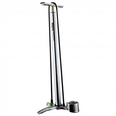 Birzman Maha Push & Twist II Alloy Floor Pump - Silver