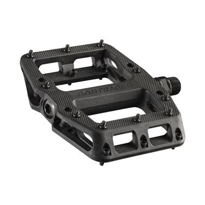BontragerLine Elite Sealed Bearing Nylon Flat MTB Pedals - Flat Black