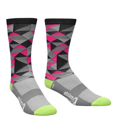 Stolen Goat Cool Max Socks - Cracker Pink