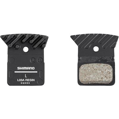 Shimano L03A Alloy Backed Organic Brake Pads With Cooling Fins
