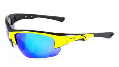NRC S4 Sunglasses - Fluo Yellow/ Gloss Black