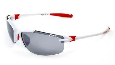 NRC S11 4 Lens Sunglasses - White/Red