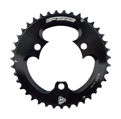 FSA Pro MTB 10 Speed Double 39 Tooth 3 Hole Chainring - Black