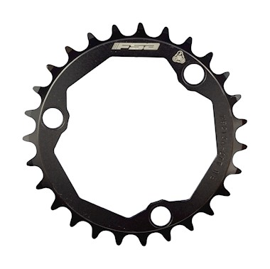 FSA Pro MTB 10 Speed Double 27 Tooth 3 Hole Chainring - Black