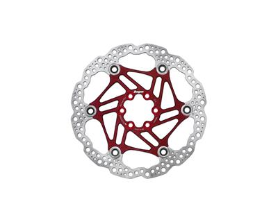 Hope Floating Rotor 6 Bolt 180mm - Red