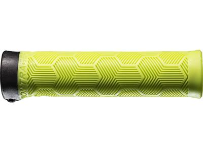 Bontrager XR Trail Comp Lock-On Grips - Volt