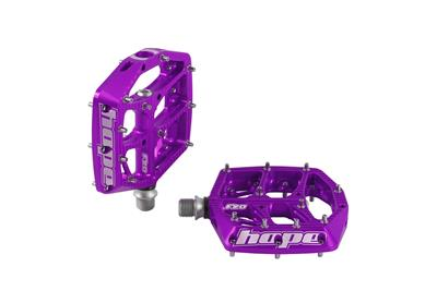 Hope F20 MTB Flat Pedals - Purple