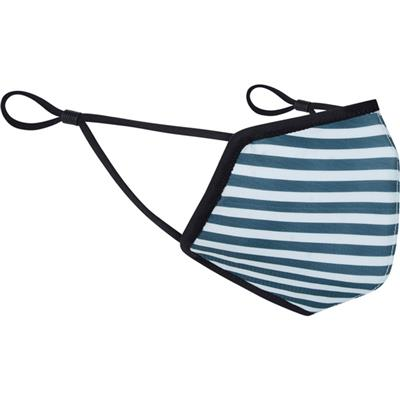 Madison 3D Reusable Face Covering - Stripe Navy / Grey