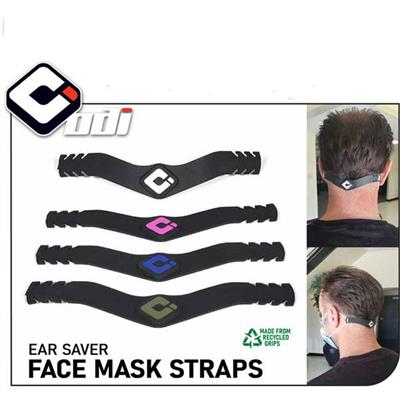 Odi Face Mask Straps - Black / Army Green