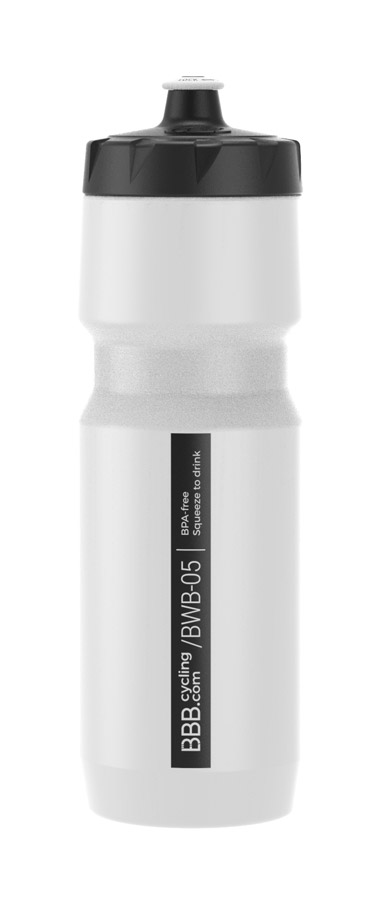BBB Comptank XL Water Bottle 750ml - White/Black