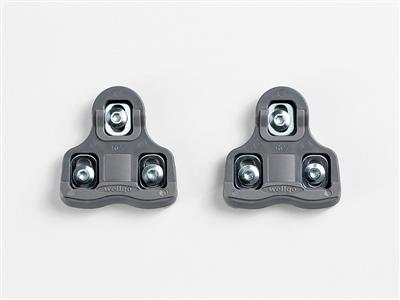 Bontrager Road Cleats - 9-Degree Float - Grey