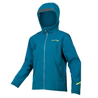 Endura MT500  Mens Waterproof Jacket II  - Kingfisher Blue