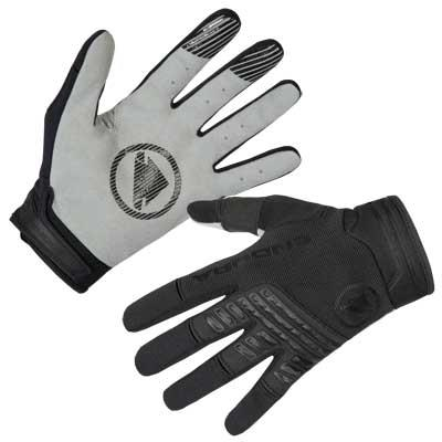 Endura Singletrack Mens Gloves - Black