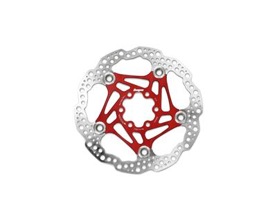 HOPE Universal 6 Bolt Floating Rotor 203mm - Red