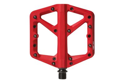 Crank Brothers Stamp 1 Flat Pedals - Large - Red
